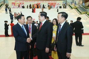 Lãnh đạo Đảng, Nhà nước dự Khai mạc Đại hội toàn quốc MTTQ Việt Nam lần thứ IX