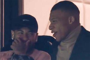 Neymar, Mbappe cười nghiêng ngả ở trận PSG thắng Real 3-0