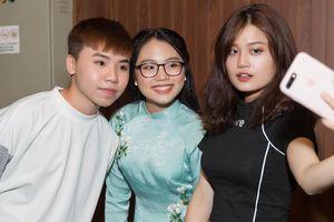 Quang Anh, Phương Mỹ Chi hội ngộ sau nhiều năm