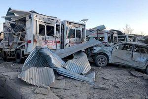 Đánh bom gần căn cứ tình báo Afghanistan, thương vong hơn 100 người