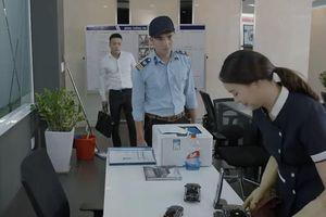 'Hoa hồng trên ngực trái' tập 14: Khuê đến làm tại công ty của Bảo 'tuần lộc'