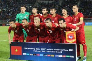 ĐT Việt Nam tụt 2 bậc trên bảng xếp hạng FIFA