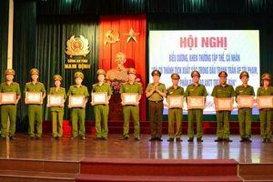 Khởi tố vụ cướp tiệm vàng táo tợn ở Nam Định