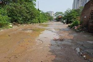 Ám ảnh hố tử thần trên phố Nguyễn Cảnh Dị