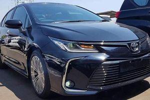 Khách Việt mừng hụt với Toyota Corolla Altis thế hệ mới