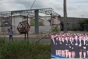 Công ty Alibaba tháo dỡ gần xong văn phòng trái phép tại Long Thành