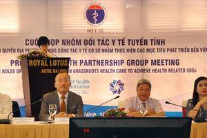 Bộ Y tế tổ chức họp nhóm đối tác y tế tuyến tỉnh