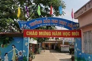 Phú Thọ: Phòng giáo dục nói gì về việc 90 trẻ mầm non nhập viện?