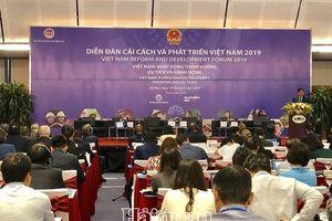 VRDF 2019: Cải cách, đổi mới vì khát vọng Việt Nam thịnh vượng