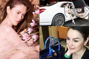 Hoa hậu bênh Ngọc Trinh: BST túi tiền tỷ vượt mặt 'nữ hoàng nội y', chơi kim cương không kém Lý Nhã Kỳ