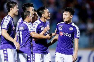 Quang Hải và Hà Nội sẽ bảo vệ thành công chức vô địch V.League trước hai vòng đấu vào chiều nay?