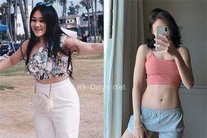 Nàng béo Thái Lan 'lột xác' thành hot girl phòng gym nhờ giảm liền 15 kg