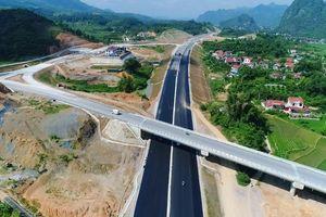 Chùm ảnh: Toàn cảnh BOT cao tốc Bắc Giang - Lạng Sơn chuẩn bị thông xe