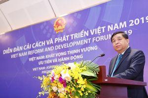 Khai mạc Diễn đàn Cải cách và Phát triển Việt Nam 2019