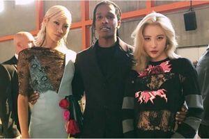 'Nữ hoàng quyến rũ' Sunmi lấn át Quan Hiểu Đồng tại show Prada