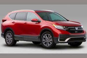Honda CR-V bản nâng cấp ra mắt, 'thách đấu' Mazda CX-5