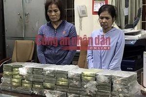 Nữ chủ xe khách nhiễm HIV cầm đầu đường dây vận chuyển 80 bánh heroin