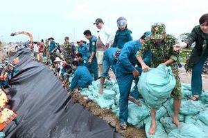 Cà Mau ban bố tình huống khẩn cấp sạt lở bờ biển