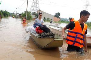 Đồng Nai: Hồ Trị An xả lũ, hạ du ngập nặng
