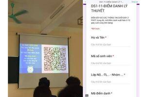 Điểm danh bằng mã QR trong 60 giây, sinh viên Đại học Luật Hà Nội 'hết đường' đi học muộn