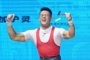 Lực sĩ Thạch Kim Tuấn thất bại tại giải vô địch thế giới