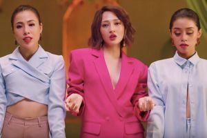 Bảo Anh mặc váy quyến rũ, khoe chân thon trong MV mới