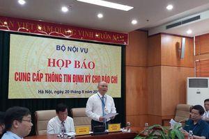 Thứ trưởng Bộ Nội vụ Nguyễn Duy Thăng: 'Tăng phân cấp cho địa phương trong sắp xếp cơ quan chuyên môn cấp tỉnh, cấp huyện'