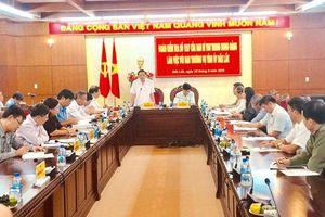 Đoàn kiểm tra của Ban Bí thư Trung ương Đảng làm việc với Tỉnh ủy Đác Lắc