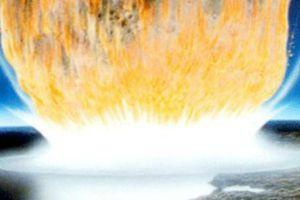 Tiểu hành tinh từng diệt khủng long tạo sóng thần trên Trái đất?