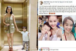 Quế Vân mắng anti-fan khi so sánh con Kỳ Hân với con Ly Kute