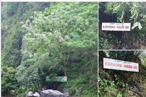 Độc đáo quán Karaoke với 'âm thanh vòm' là cả hang đá ở Hà Giang