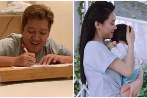 Lộ clip Trường Giang trò chuyện cực đáng yêu với con gái qua facetime