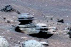 Bí ẩn cấu trúc hình đĩa xoắn kỳ lạ trên sao Hỏa