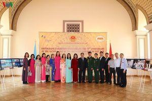Hội Hữu nghị Việt Nam – Ukraine thăm trường xưa, tìm kiếm cơ hội mở rộng hợp tác