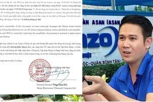Bị Sharp 'dọa' kiện, Asanzo lập tức phản hồi