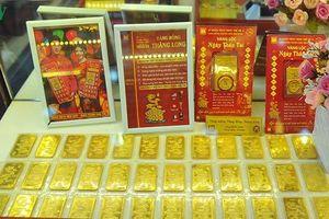Giá vàng trong nước và thế giới gần bằng nhau