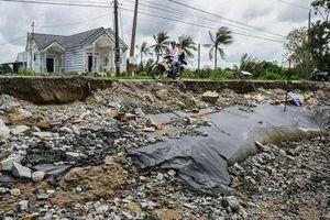 Cà Mau công bố tình huống khẩn cấp trước tình trạng sạt lở bờ biển Đông, sạt lở bờ sông diễn biến phức tạp
