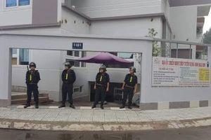 NÓNG: Lực lượng công an bất ngờ vây ráp Công ty Địa ốc Chiến Binh Thép của Alibaba tại TP.HCM