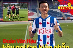 Văn Hậu kêu gọi fan kiên nhẫn; TP.HCM I tăng tốc bỏ 3 đối thủ