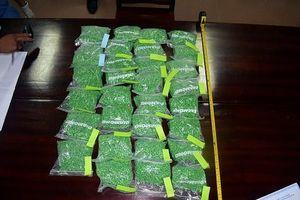 Vận chuyển hơn 30.000 viên ma túy bằng tàu hỏa