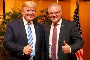 Mỹ - Úc xa nhau vì Trung Quốc