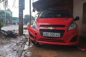 Cán bộ công an gây tai nạn khiến một người bị thương nặng