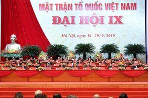 Toàn cảnh Đại hội toàn quốc Mặt trận Tổ quốc Việt Nam lần thứ IX