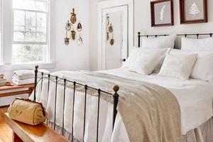 20 mẫu phòng ngủ tông màu trắng đẹp hút hồn ai lại tinh tế, nhẹ nhàng ai cũng thích mê