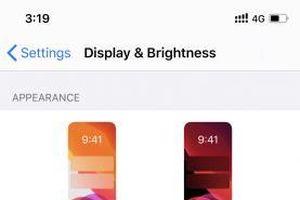 Cách sử dụng chế độ Dark Mode của iOS 13