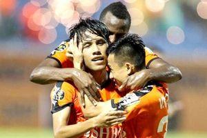 Gục ngã phút cuối trước Đà Nẵng, Thanh Hóa thua HAGL 4 điểm
