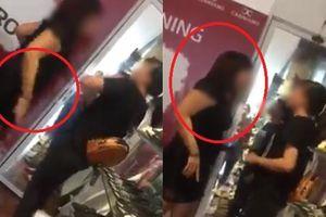 Phẫn nộ clip chủ shop giày chửi bới, dọa dẫm và đánh nữ sinh đến đòi lương
