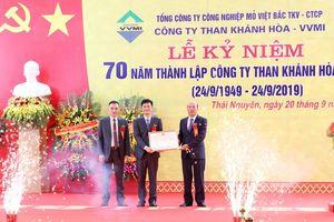 Công ty Than Khánh Hòa kỷ niệm 70 năm thành lập