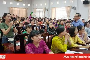 Hội Liên hiệp Phụ nữ tỉnh tổ chức tư vấn sức khỏe cộng đồng về hậu quả trẻ biếng ăn