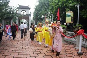 Tưng bừng Lễ hội đền An Sinh và hào khí Đông A